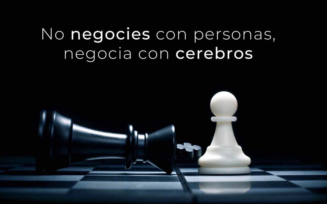 CHARLA | No negocies con personas, negocia con cerebros