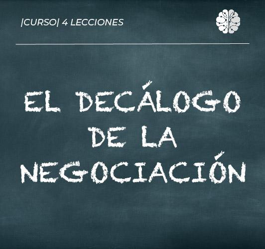 Decálogo de la negociación