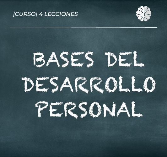 Bases del desarrollo personal
